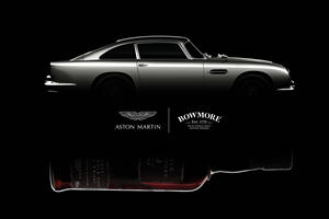 Aston Martin Celebrates With $50,000 Bottle Of Whisky
