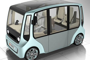 Rinspeed Rethinks Urban Transport with Micromax Concept