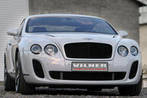 Vilner Decks Out Continental GT with Custom Interior