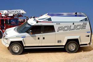Carbon Motors Designs TX7 Multi Mission Vehicle