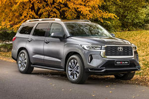 Would You Be Happy If The New Toyota Sequoia Looked Like This?