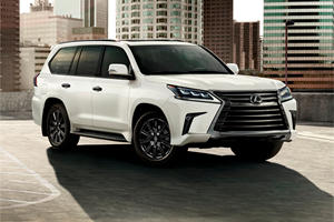 2021 Lexus LX Unveiled With New Special Edition
