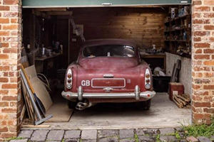 David Brown's Aston Martin DB4 Is One Rare Barn Find