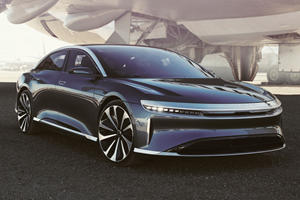 Lucid Air Charges Faster Than Any Other EV