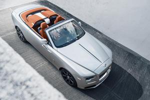 Rolls-Royce Dawn Silver Bullet Looks Like Automotive Royalty