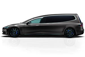 Go Quietly To The Grave In This Tesla Model S Hearse