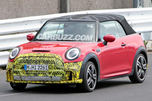 New Mini Cooper S Convertible Makes Nurburgring Debut