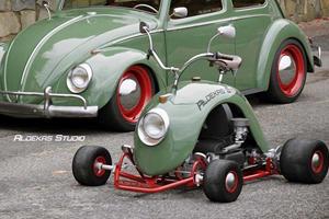 Go Kart Built From VW Beetle Fender Looks Amazing