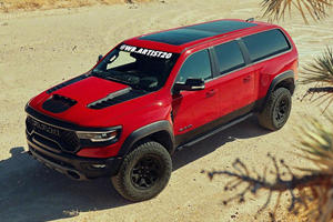 702-HP Ram TRX Would Make The Perfect Ramcharger SUV