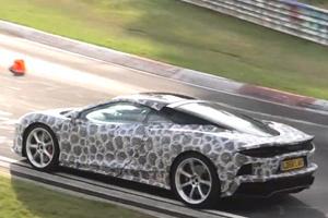 McLaren GT Caught Testing At Nurburgring Raises Questions