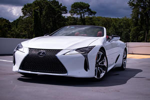 2021 Lexus LC Convertible Test Drive Review: Proving The Future Wrong