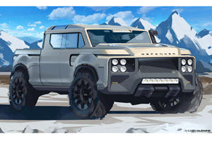 Land Rover Defender Pickup Is The British F-150 We'd Love To See