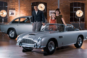 Aston Martin DB5 Junior Is The Ultimate Boy's Toy