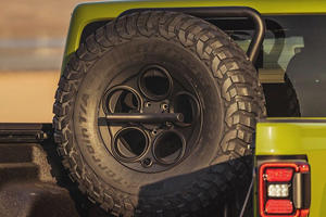 Carrying A Spare Tire Into The Wild Just Got Easier