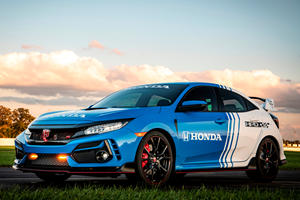 Honda Civic Type R Pace Car Is A Hardcore Hot Hatch