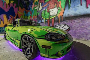 Mazda MX-5 Miata Looks Like It's Jumped Straight Out Of A Comic Book