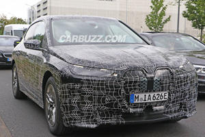 Best Look Yet At BMW's Flagship Electric SUV