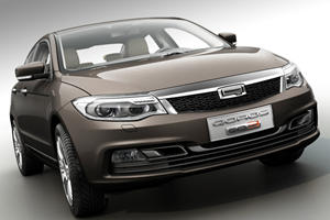 Qoros Reveals First GQ3 Sedan