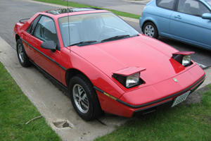 Famous for Catching Fire: Pontiac Fiero
