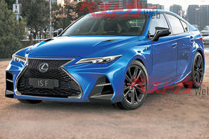 V8-Powered Lexus IS F Is Coming To Take On The BMW M3