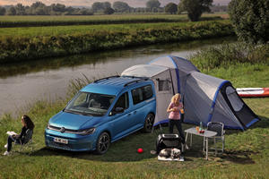 New Volkswagen Caddy California Makes Camping Easy