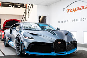 See What Goes Into Protecting The Paint Of The $5.8M Bugatti Divo