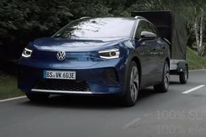 VW ID.4 Towing Capacity Leaves Tesla Model Y For Dead