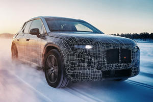 BMW's X5-Sized iX Will Have A Range Of Nearly 400 Miles