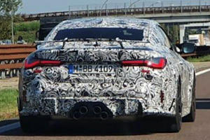 New BMW M4 GTS Spied With Outrageous Exhaust