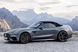This Is What The New Mercedes-AMG SL-Class Will Look Like