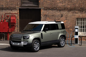 Say Hello To The Plug-In Hybrid Land Rover Defender