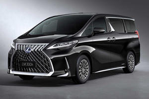 Lexus LM Minivan Costs As Much As A Bentley Flying Spur