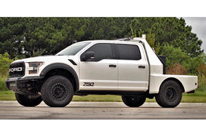 This F-150 Raptor Flatbed Truck Has Left Us Speechless