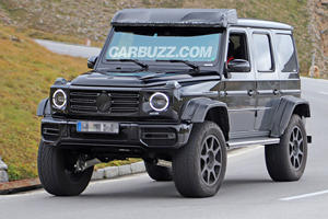 Hardcore Mercedes G-Class 4x4 Squared Is Back