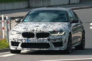 Watch The Mighty BMW M5 CS Tear Up The Nurburgring