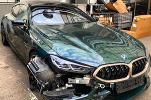 Rare BMW M8 Gran Coupe First Edition Reduced To A Mangled Wreck