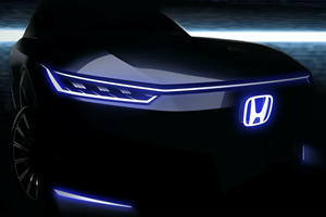 Funky New Honda EV Shows Off Its Sleek Face