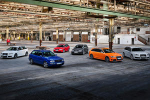 History Of Audi's Greatest RS Models