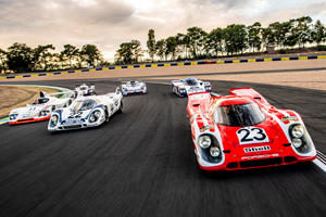 Porsche Returns To Le Mans With Six Legendary Winners