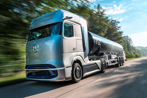 This Is Mercedes' Answer To The Tesla Semi Truck