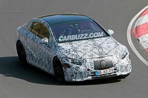 Mercedes-Benz EQS Starts High-Speed Testing