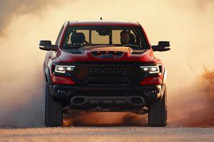 Ram TRX Fires Shots At Ford F-150 Raptor