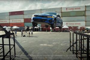 Watch The Kia K5 Make A 360-Degree Jump