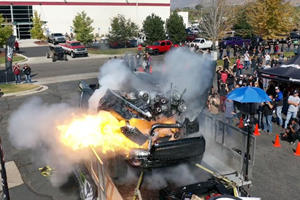 Cummins Diesel Truck Explodes Trying To Hit 3,000 HP