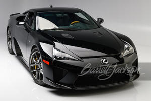 This Stunning Lexus LFA Is Practically Brand New