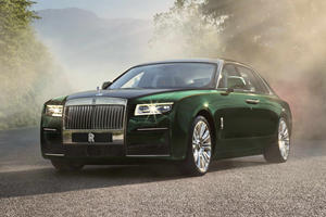 2021 Rolls-Royce Ghost Extended Revealed With Ultra-Luxury Interior