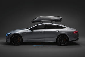 Mercedes-AMG's New Roof Box Has Its Own Rear Diffuser