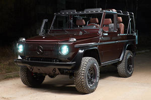 This Mercedes G-Class Took 1,000 Hours To Meticulously Restore