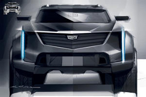 Cadillac's Next Electric SUV Looks Mean