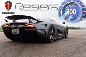 Watch The Koenigsegg Regera Effortlessly Hit 186 MPH